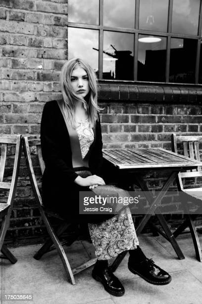 Actor Hannah Murray is photographed for Wonderland magazine on March 14 2013 in London England