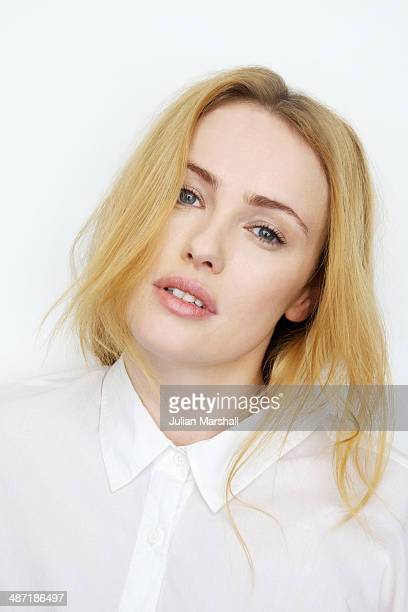 Actor Hannah New is photographed on March 23 2014 in London England