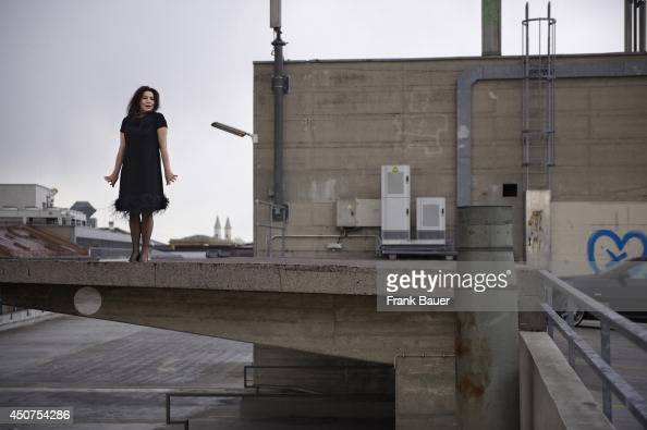 Actor Hannelore Elsner is photographed for Stern magazine in Munich Germany