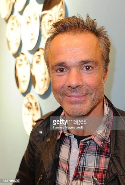 Actor Hannes Jaenicke attend Apropos Concept Store Opening on December 12 2013 in Munich Germany