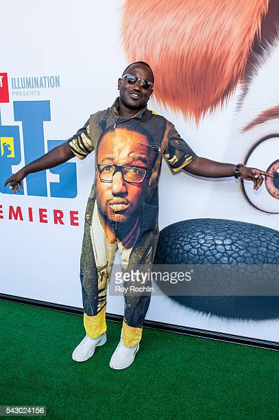 Actor Hannibal Buress attends 'Secret Life Of Pets' New York Premiere on June 25 2016 in New York City
