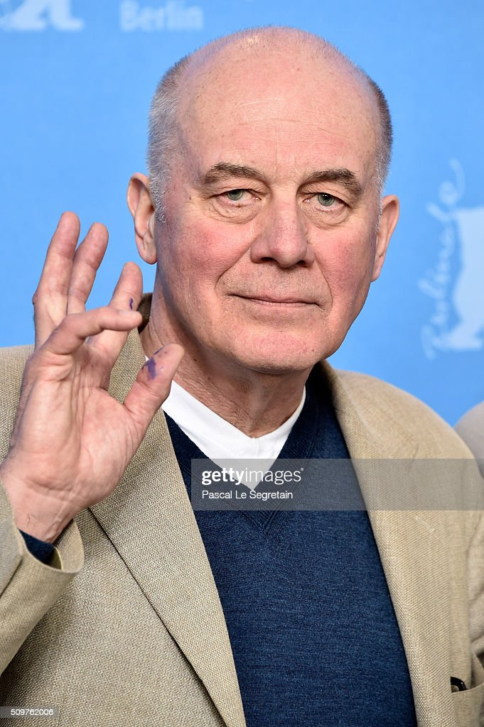 Actor Hanns Zischler attends the 'All Of A Sudden' photo call during the 66th Berlinale International Film Festival Berlin at Grand Hyatt Hotel on February 12, 2016 in Berlin, Germany.