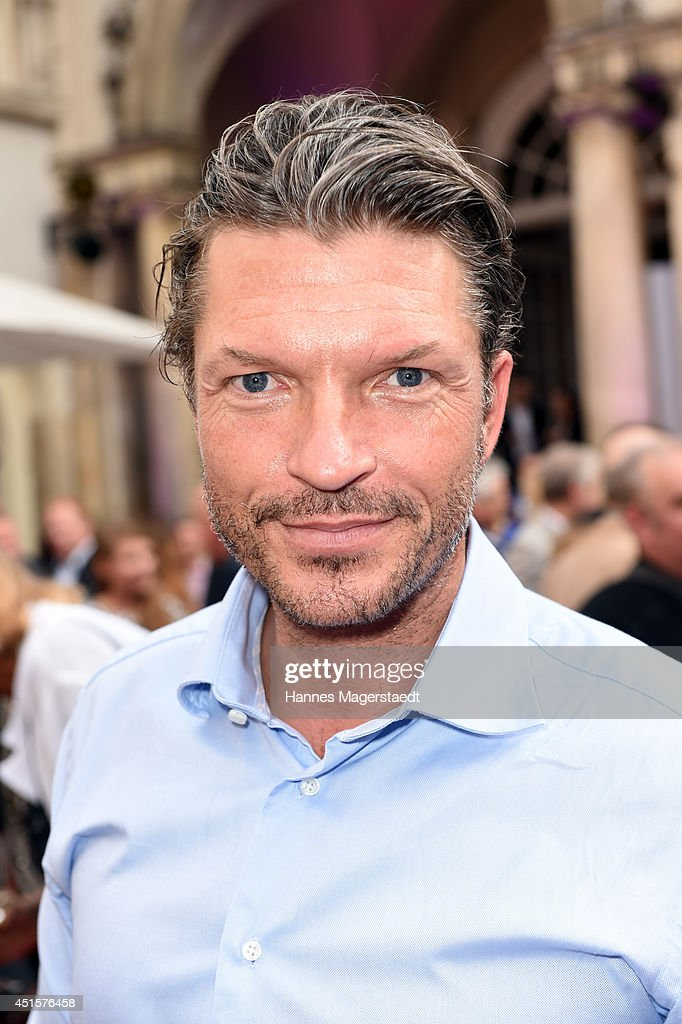 Actor Hardy Krueger Jr. attends the Bavaria Reception during the Munich Film Festival 2014 on July 1, 2014 in Munich, Germany.