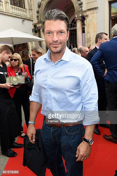 Actor Hardy Krueger Jr attends the Bavaria Reception during the Munich Film Festival 2014 on July 1 2014 in Munich Germany