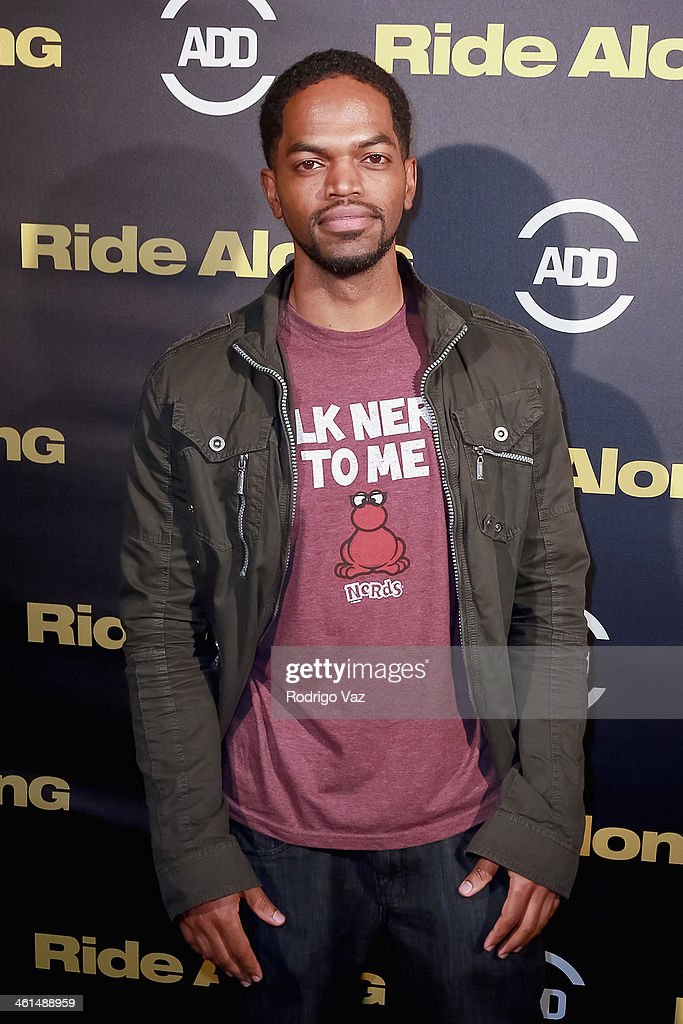 Actor Hari Williams attends the ADD Comedy Live! Special Screening of 'Ride Along' on January 8, 2014 in Los Angeles, California.