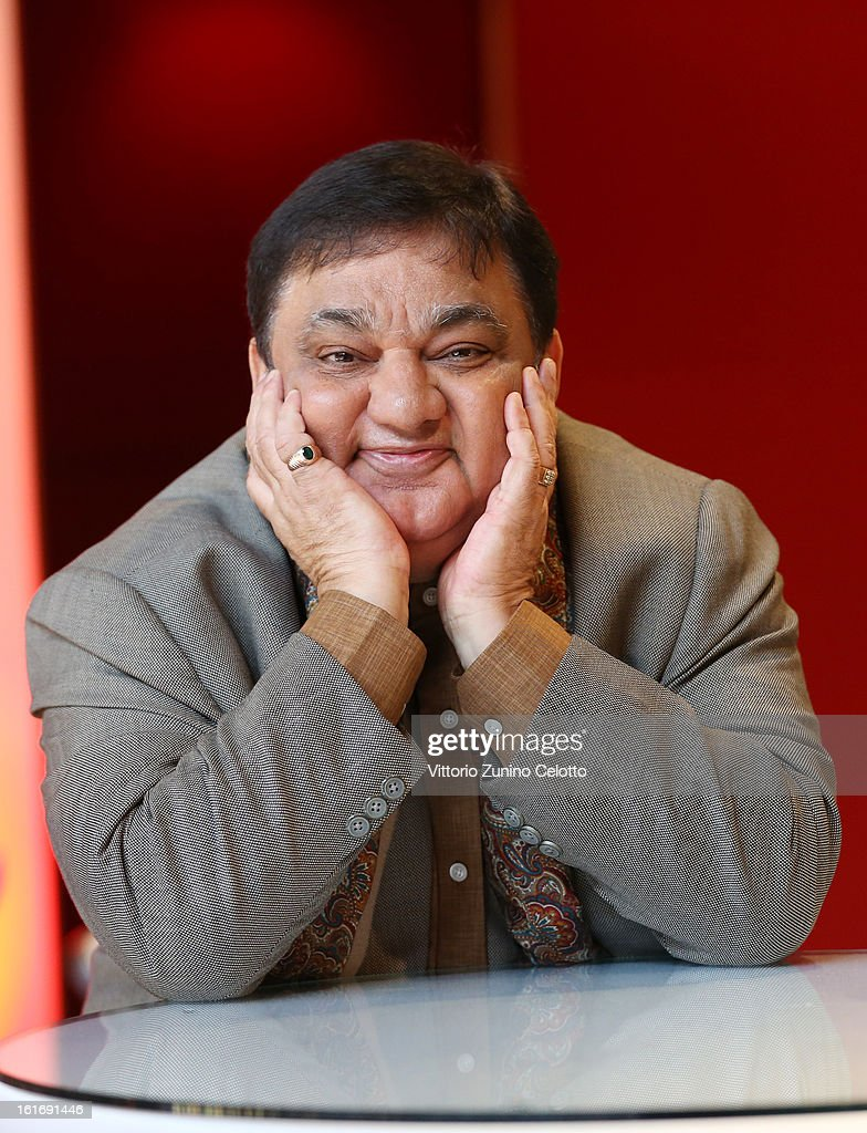 Actor Harish Patel attends the 'Jadoo' Portrait Session during the 63rd Berlinale International Film Festival at Berlinale Palast on February 14, 2013 in Berlin, Germany.