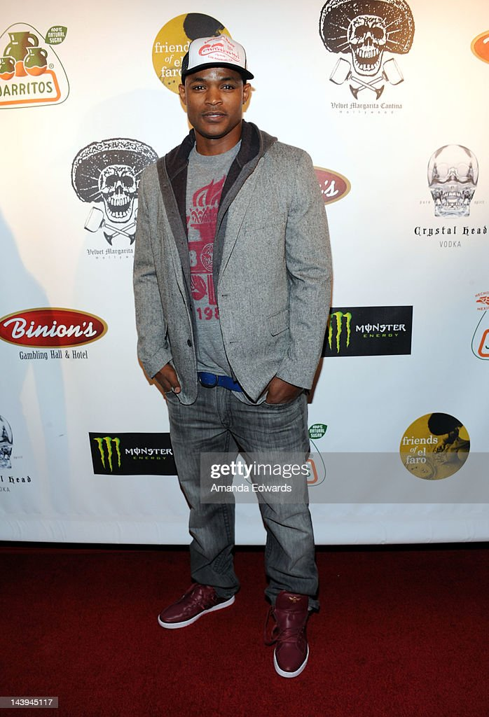 Actor Harold House Moore arrives at the 8th Annual Cinco de Mayo Benefit With Charity Celebrity Poker Tournament at Velvet Margarita Cantina on May 5, 2012 in Hollywood, California.