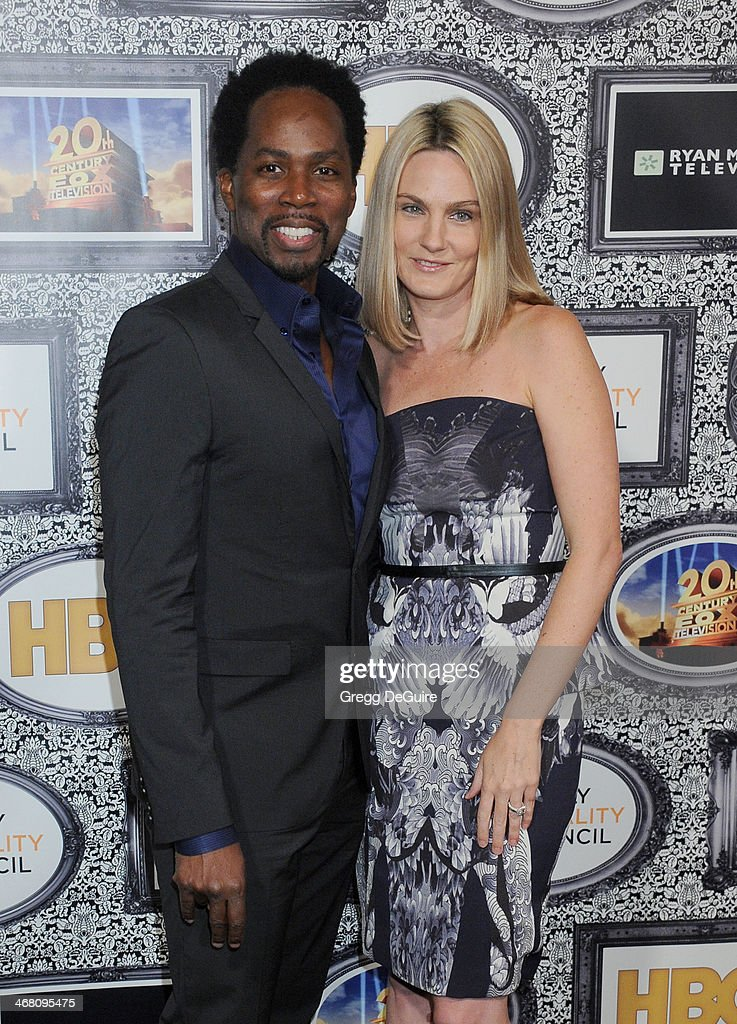 Actor <a gi-track='captionPersonalityLinkClicked' href=/galleries/search?phrase=Harold+Perrineau&family=editorial&specificpeople=581188 ng-click='$event.stopPropagation()'>Harold Perrineau</a> and Brittany Perrineau arrive at the Family Equality Council's Annual Los Angeles Awards Dinner at The Globe Theatre on February 8, 2014 in Universal City, California.