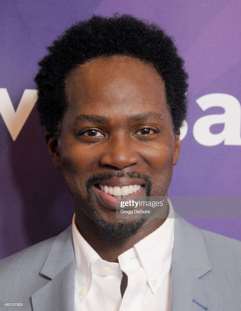 Actor <a gi-track='captionPersonalityLinkClicked' href=/galleries/search?phrase=Harold+Perrineau&family=editorial&specificpeople=581188 ng-click='$event.stopPropagation()'>Harold Perrineau</a> arrives at the 2014 Television Critics Association Summer Press Tour - NBCUniversal - Day 1 at The Beverly Hilton Hotel on July 13, 2014 in Beverly Hills, California.
