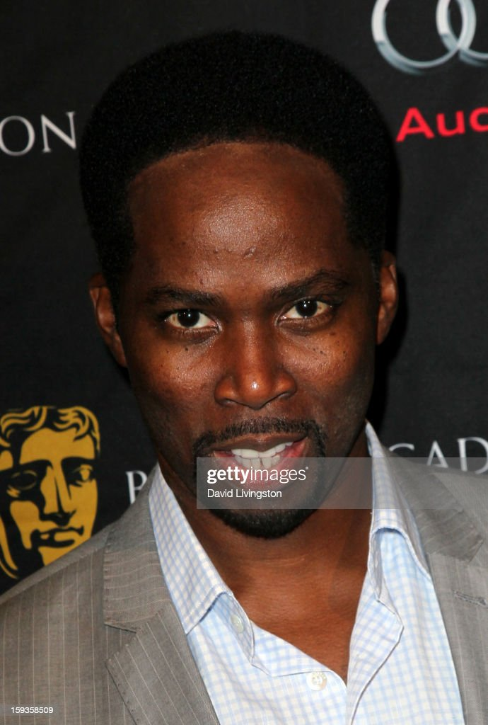 Actor <a gi-track='captionPersonalityLinkClicked' href=/galleries/search?phrase=Harold+Perrineau&family=editorial&specificpeople=581188 ng-click='$event.stopPropagation()'>Harold Perrineau</a> arrives at the BAFTA Los Angeles 2013 Awards Season Tea Party held at the Four Seasons Hotel Los Angeles on January 12, 2013 in Los Angeles, California.