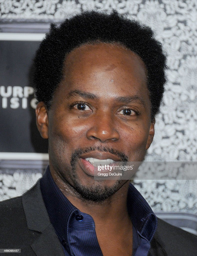 Actor <a gi-track='captionPersonalityLinkClicked' href=/galleries/search?phrase=Harold+Perrineau&family=editorial&specificpeople=581188 ng-click='$event.stopPropagation()'>Harold Perrineau</a> arrives at the Family Equality Council's Annual Los Angeles Awards Dinner at The Globe Theatre on February 8, 2014 in Universal City, California.