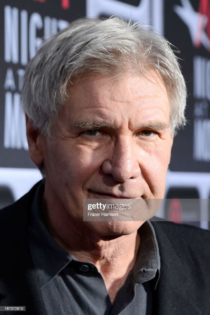 Actor <a gi-track='captionPersonalityLinkClicked' href=/galleries/search?phrase=Harrison+Ford+-+Attore+-+Classe+1942&family=editorial&specificpeople=11508906 ng-click='$event.stopPropagation()'>Harrison Ford</a> arrives on the red carpet for Target Presents AFI's Night at the Movies at ArcLight Cinemas on April 24, 2013 in Hollywood, California.