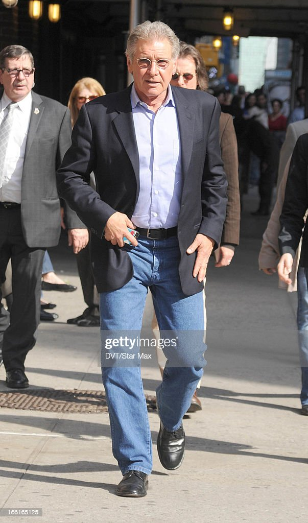 Actor Harrison Ford as seen on April 8, 2013 in New York City.