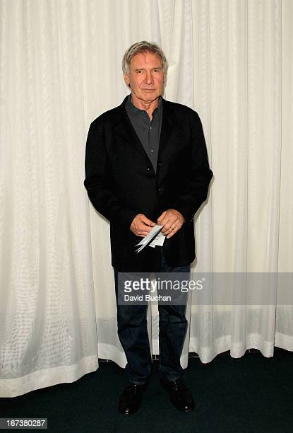 Actor Harrison Ford attends 'Blade Runner' at Target Presents AFI's Night at the Movies at ArcLight Cinemas on April 24 2013 in Hollywood California