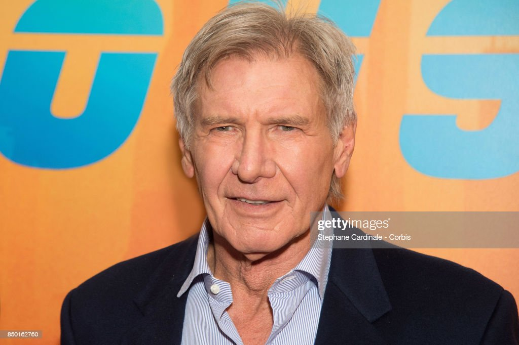Actor Harrison Ford attends the 'Blade Runner 2049' Photocall at Hotel Le Bristol on September 20, 2017 in Paris, France.