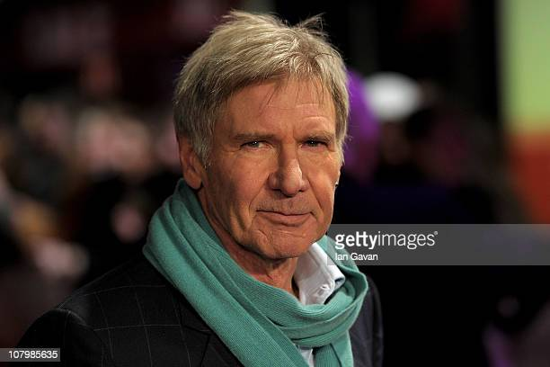 Actor Harrison Ford attends the 'Morning Glory' UK premiere at the Empire Leicester Square on January 11 2011 in London England