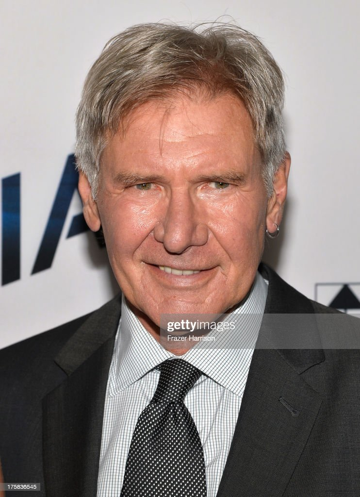 Actor <a gi-track='captionPersonalityLinkClicked' href=/galleries/search?phrase=Harrison+Ford+-+Actor+-+Born+1942&family=editorial&specificpeople=11508906 ng-click='$event.stopPropagation()'>Harrison Ford</a> attends the premiere of Relativity Media's 'Paranoia' at DGA Theater on August 8, 2013 in Los Angeles, California.