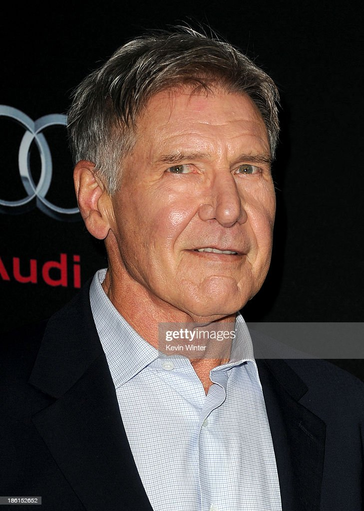 Actor Harrison Ford attends the Premiere Of Summit Entertainment's 'Ender's Game' at TCL Chinese Theatre on October 28 2013 in Hollywood California
