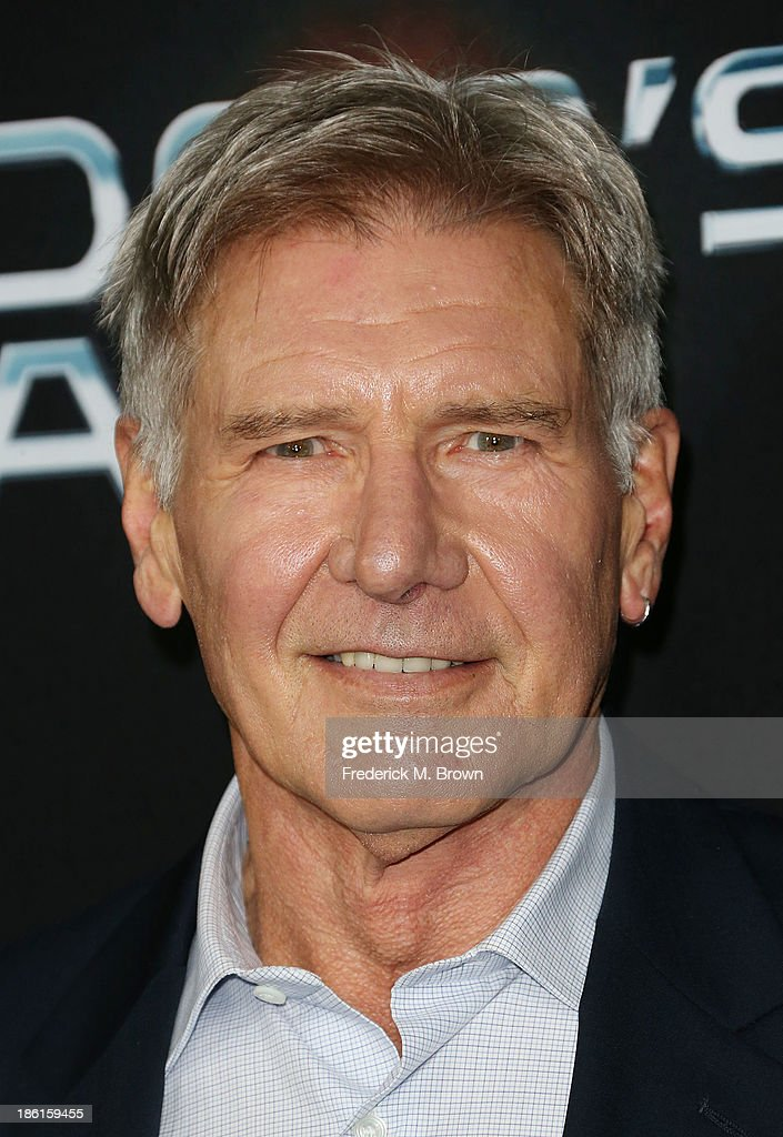Actor Harrison Ford attends the Premiere of Summit Entertainment's 'Ender's Game' at the TCL Chinese Theatre on October 28 2013 in Hollywood...