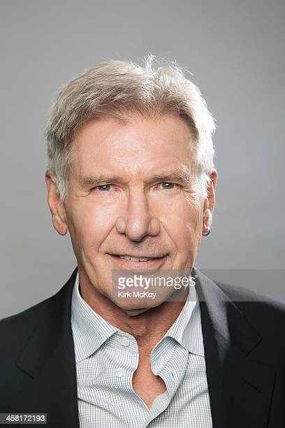 Actor Harrison Ford is photographed for Los Angeles Times on November 10 2013 in Los Angeles California PUBLISHED IMAGE CREDIT MUST BE Kirk McKoy/Los...