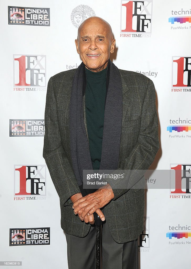Actor <a gi-track='captionPersonalityLinkClicked' href=/galleries/search?phrase=Harry+Belafonte&family=editorial&specificpeople=204214 ng-click='$event.stopPropagation()'>Harry Belafonte</a> attends Diversity In Cinema during the 2013 First Time Fest at THE PLAYERS on March 2, 2013 in New York City.