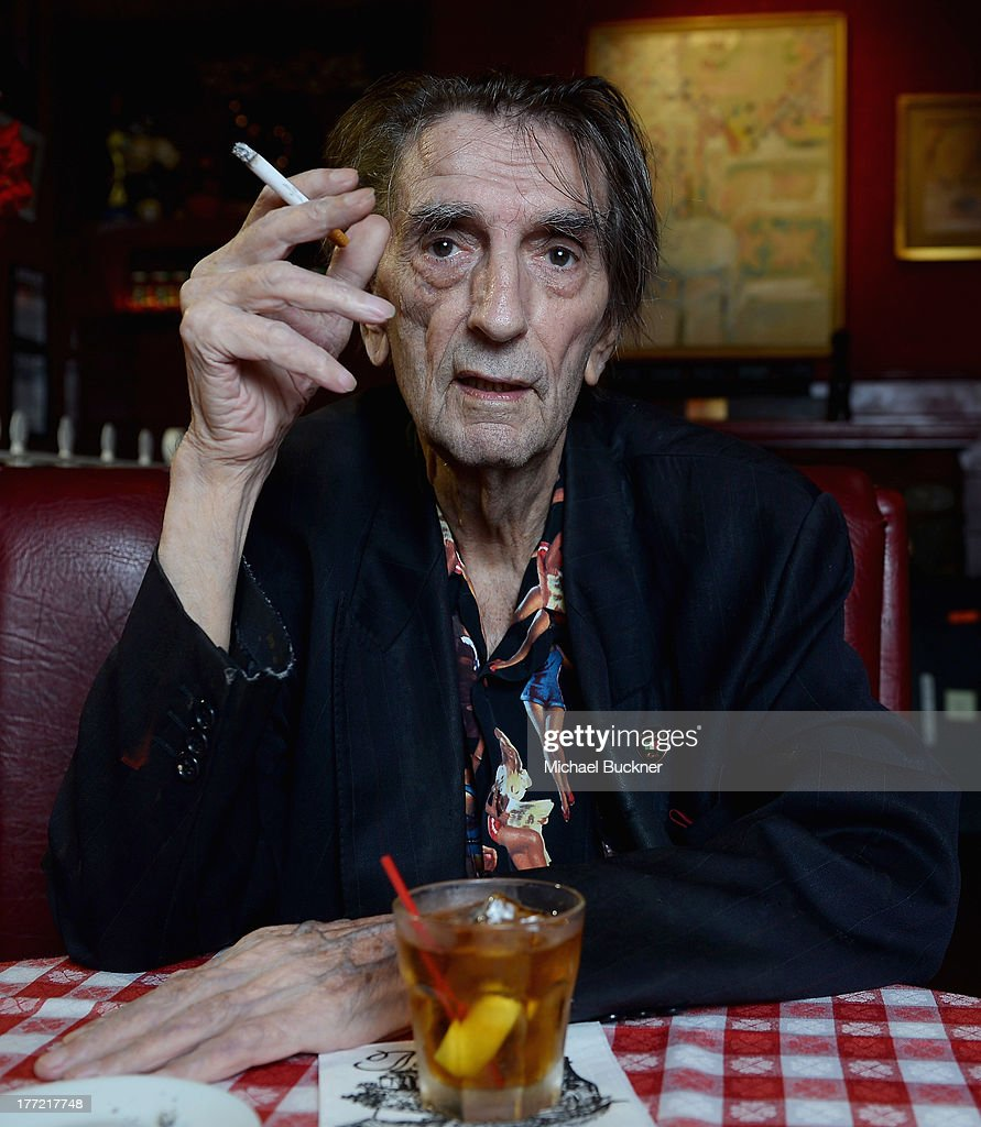 Actor <a gi-track='captionPersonalityLinkClicked' href=/galleries/search?phrase=Harry+Dean+Stanton&family=editorial&specificpeople=665590 ng-click='$event.stopPropagation()'>Harry Dean Stanton</a> poses for a portrait for the film '<a gi-track='captionPersonalityLinkClicked' href=/galleries/search?phrase=Harry+Dean+Stanton&family=editorial&specificpeople=665590 ng-click='$event.stopPropagation()'>Harry Dean Stanton</a>: Partly Fiction' at Dan Tana's Restaurant on August 22, 2013 in West Hollywood, California.