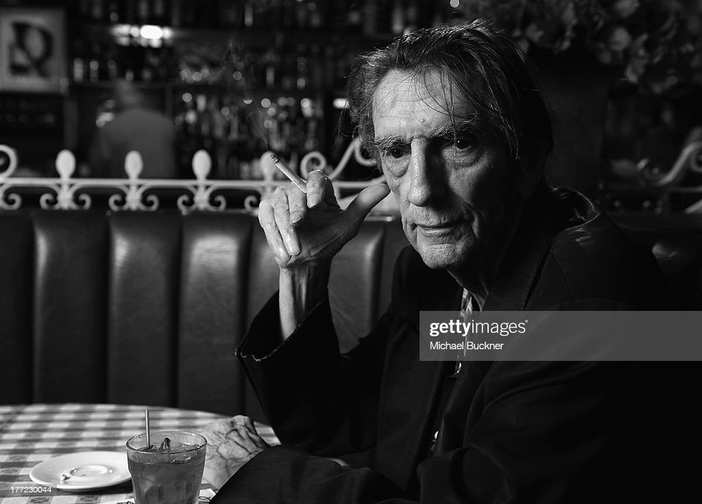 Actor Harry Dean Stanton poses for a portrait for the film 'Harry Dean Stanton: Partly Fiction' at Dan Tana's Restaurant on August 22, 2013 in West Hollywood, California.