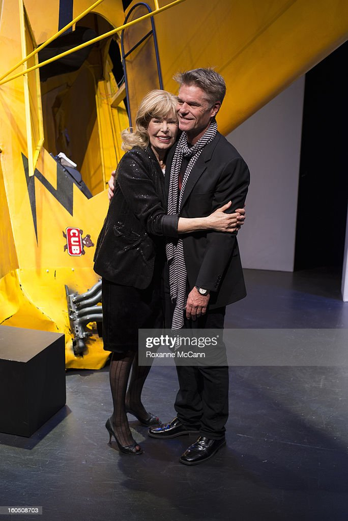 Actor Harry Hamlin appears in the play One November Yankee, produced and directed by Joshua Ravetch with co-star Loretta Swit, on January 11, 2013 at the NoHo Theater in North Hollywood, California.