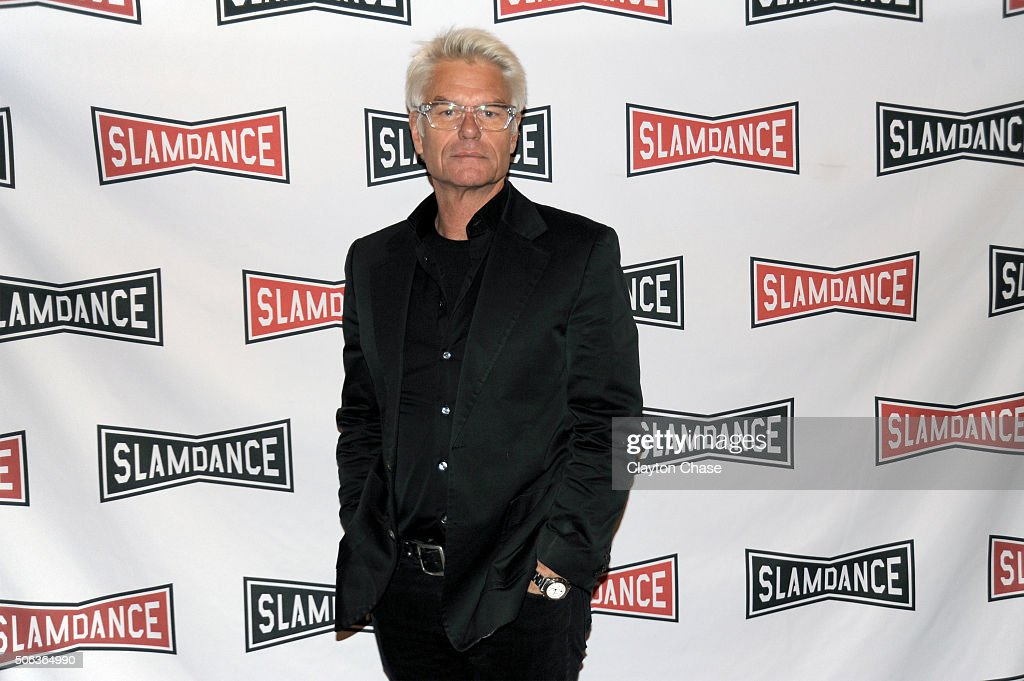 Actor <a gi-track='captionPersonalityLinkClicked' href=/galleries/search?phrase=Harry+Hamlin&family=editorial&specificpeople=211584 ng-click='$event.stopPropagation()'>Harry Hamlin</a> attends the Slamdance Film Festival World Premiere Of 'Director's Cut' Photo Call at Treasure Mountain Inn on January 22, 2016 in Park City, Utah.