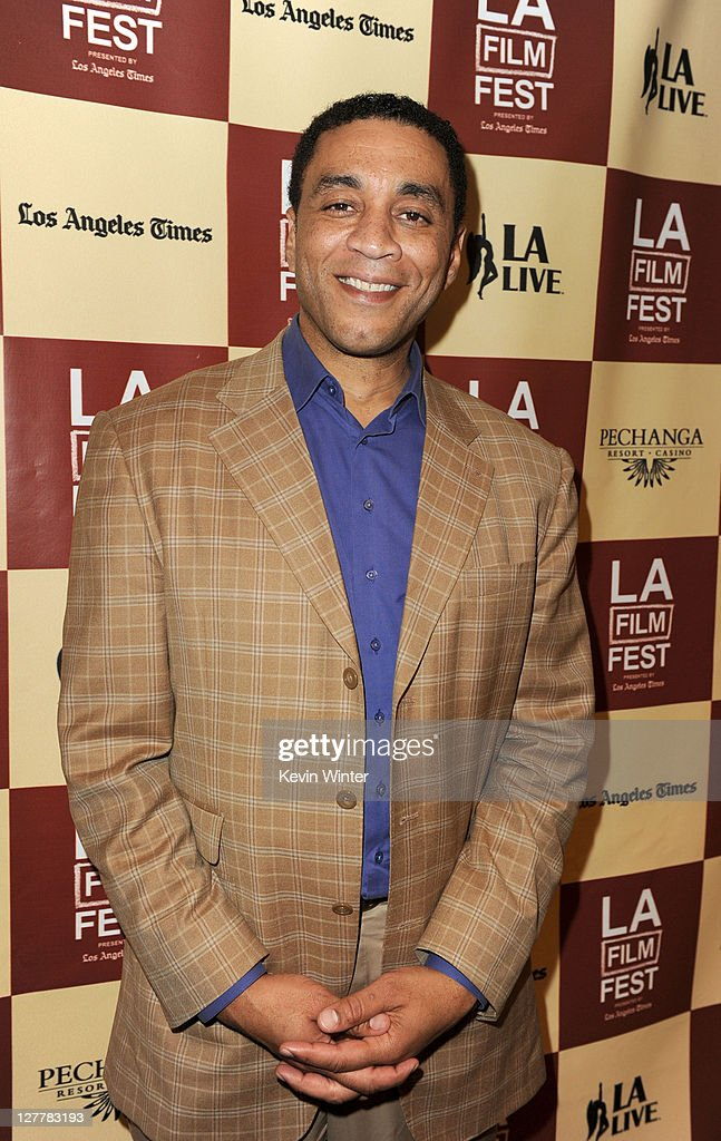 Actor Harry Lennix attends The Art of Translation A Conversation with Julie Taymor during the 2011 Los Angeles Film Festival at The GRAMMY Museum on...
