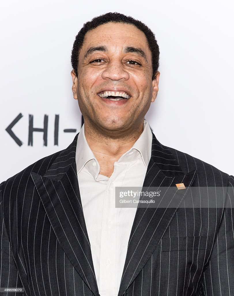 Actor Harry Lennix attends the 'CHIRAQ' New York Premiere at Ziegfeld Theater on December 1 2015 in New York City