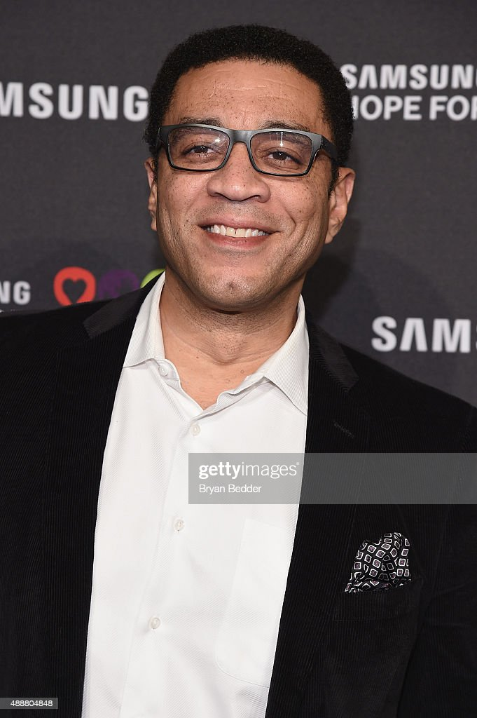 Actor Harry Lennix attends the Samsung Hope for Children Gala 2015 at Hammerstein Ballroom on September 17 2015 in New York City