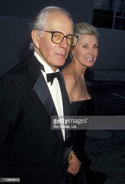 Actor Harry Morgan attends 14th Annual People's Choice Awards on March 13 1988 at 20th Century Fox Studios in Century City California