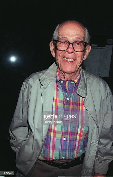 Actor Harry Morgan from 'M*A*S*H' at Matteos Restaurant May 28 2000 in Westwood CA