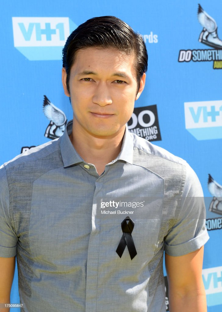 Actor Harry Shum, Jr. arrives at the DoSomething.org and VH1's 2013 Do Something Awards at Avalon on July 31, 2013 in Hollywood, California.