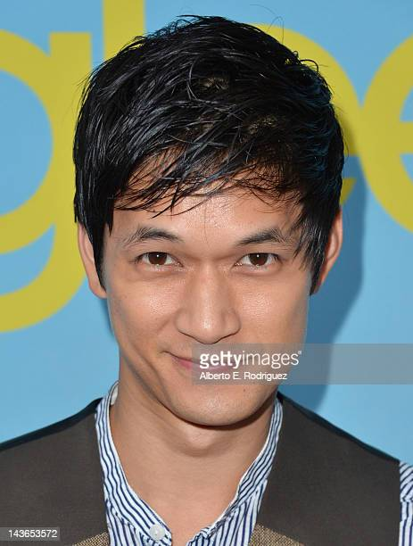 Actor Harry Shum Jr arrives to The Academy of Television Arts Sciences' screening of Fox's 'Glee' at Leonard Goldenson Theatre on May 1 2012 in North...