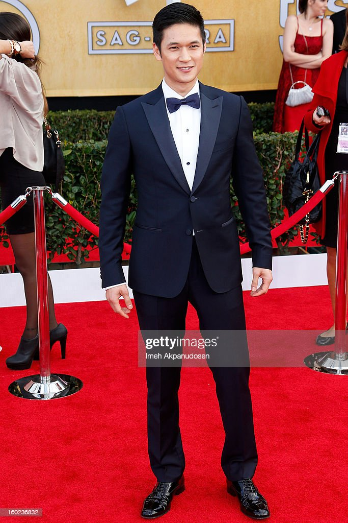 Actor Harry Shum, Jr. attends the 19th Annual Screen Actors Guild Awards at The Shrine Auditorium on January 27, 2013 in Los Angeles, California.