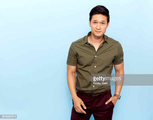 Actor Harry Shum Jr of Freeform's 'Shadowhunters' poses for a portrait during ComicCon 2017 at Hard Rock Hotel San Diego on July 20 2017 in San Diego...