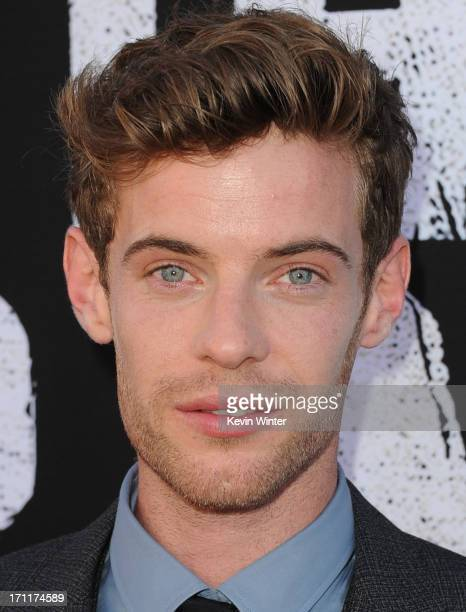 Actor Harry Treadaway arrives at the premiere of Walt Disney Pictures' 'The Lone Ranger' at Disney California Adventure Park on June 22 2013 in...