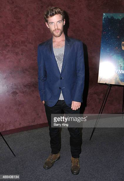 Actor Harry Treadaway attends the Los Angeles premiere of 'Honeymoon' at the Landmark Theater on August 26 2014 in Los Angeles California