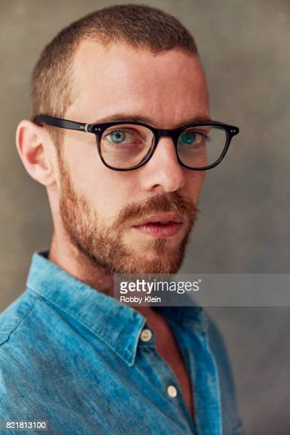Actor Harry Treadaway from ATT AUDIENCE's 'Mr Mercedes' poses for a portrait during ComicCon 2017 at Hard Rock Hotel San Diego on July 23 2017 in San...