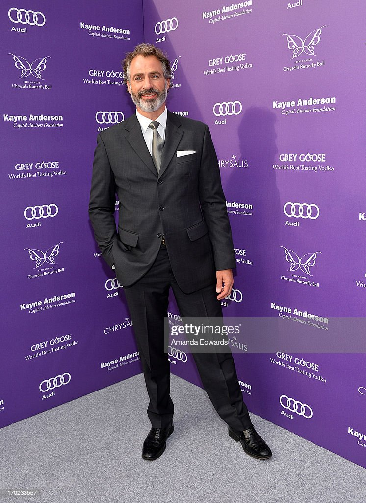 Actor Harry Van Gorkum arrives at the 12th Annual Chrysalis Butterfly Ball on June 8, 2013 in Los Angeles, California.