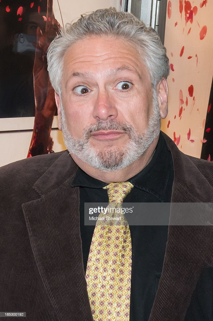 Actor <a gi-track='captionPersonalityLinkClicked' href=/galleries/search?phrase=Harvey+Fierstein&family=editorial&specificpeople=206751 ng-click='$event.stopPropagation()'>Harvey Fierstein</a> attends Broadway's 'Kinky Boots' Everybody Say Yeah Ad Unveiling in Times Square on April 2, 2013 in New York City.