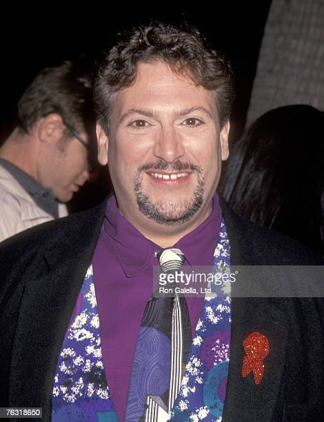 Actor Harvey Fierstein attends the 'Mrs Doubtfire' Beverly Hills Premiere on November 22 1993 at Academy Theatre in Beverly Hills California