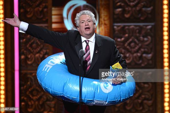 Actor Harvey Fierstein onstage at the 66th Annual Tony Awards at The Beacon Theatre on June 10 2012 in New York City