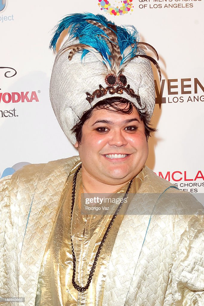Actor Harvey Guillen attends Fred and Jason's 8th Annual 'Halloweenie' Holiday Concert By The Gay Men's Chorus of Los Angeles at Los Angeles Theatre on October 25, 2013 in Los Angeles, California.
