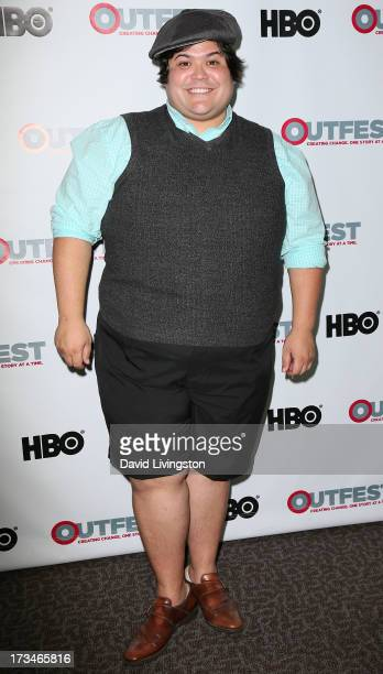 Actor Harvey Guillen attends the 2013 Outfest Film Festival 'Big Gay Love' screening at the Directors Guild Of America on July 14 2013 in Los Angeles...
