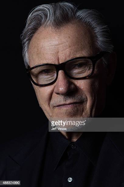 Actor Harvey Keitel from 'Youth' poses for a portrait at the 2015 Toronto Film Festival at the TIFF Bell Lightbox on September 15 2015 in Toronto...