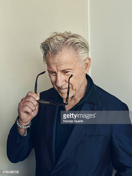 Actor Harvey Keitel is photographed for Self Assignment on May 15 2015 in Cannes France