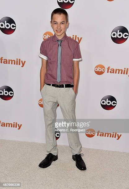 Actor Hayden Byerly attends Disney ABC Television Group's 2015 TCA Summer Press Tour at the Beverly Hilton Hotel on August 4 2015 in Beverly Hills...